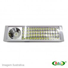40664 - LANTERNA IDEA EMERG.60+3LEDS 9957L REC.