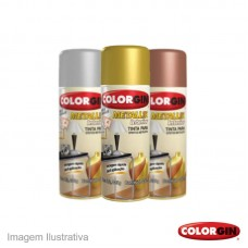 40399 - SPRAY COLORG.METALIK 350ML/235G CROM.51
