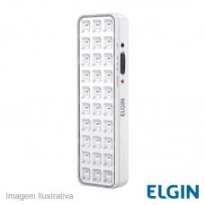 36233 - LUMINARIA EMERG.ELGIN 30LEDS C/BOTA.TEST