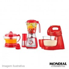 45060 - CONJUNTO ESP.MOND.RED IV C/3PC 127V KT77