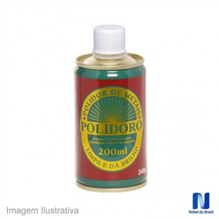 POLIDOR DE METAIS 200ML POLIDORO NOBEL