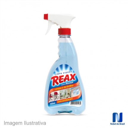 LIMPA VIDROS SPRAY REAX 500ML NOBEL