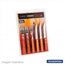 45660 - FAQUEIRO TRAM.12PC C.MAD.22399/030 CHURR