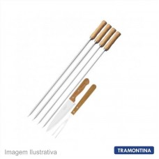 46136 - KIT P/CHURRASCO TRAMONT.06PC 26499/032