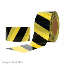 37244 - FITA ZEBRADA PT/AM 70MMX160M SEAL TAPE