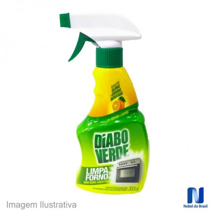 LIMPA FORNO 300ML SPRAY(DIABO VD) NOBEL