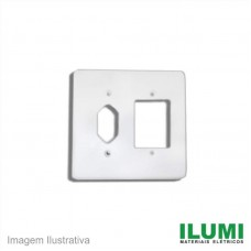 35322 - ILUMI PLACA 4X4 P/TOM.EMB+INT.3T (154K1)