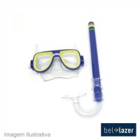 46597 - KIT SNORKEL C/MASCARA BEL 39800