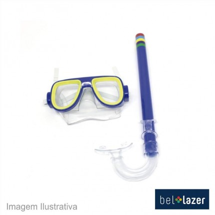 KIT SNORKEL C/MASCARA BEL 39800