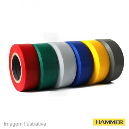 FITA ISOLANTE HAMMER 05M C/06 COLOR