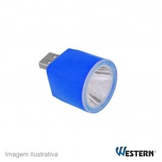 39648 - LUMINARIA WESTERN USB 1LED EL-076