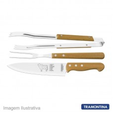 43176 - KIT P/CHURRASCO TRAMONT.03PC 22399/075