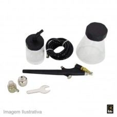43850 - AEROGRAFO P/PINT.KIT C/06PC EDA 9MV